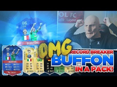 OMG I PACKED RECORD BREAKER BUFFON | 50K PACKS | FIFA 16