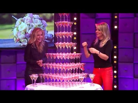 Wendy vs Chantal aan de champagnetoren - RTL LATE NIGHT