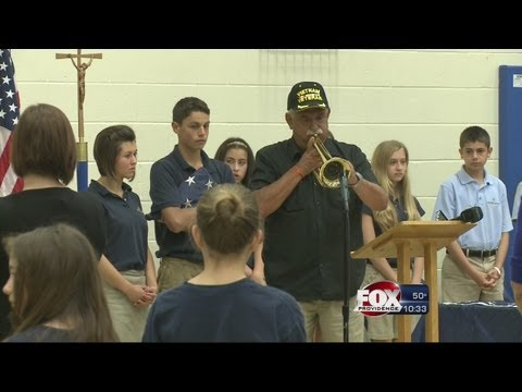 Local students honor veterans