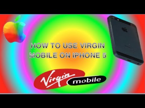 use iphone 5 on the virgin mobile network