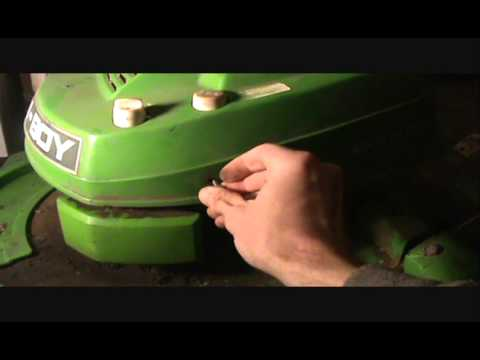 Lawn Boy Mower Primer Bulb Replacement And Reassembly 2.