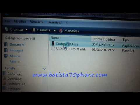 Video Guida Flash ROM HTC Diamond by batista70
