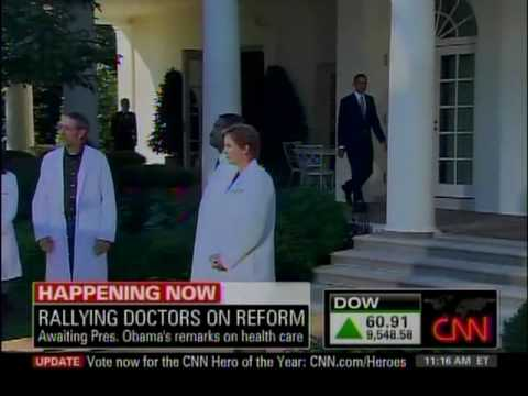 Schnittshow.com: Obama's Dog and Pony Show - Lab Coat Parade