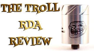 The Troll RDA By Wotofo AMOD Review