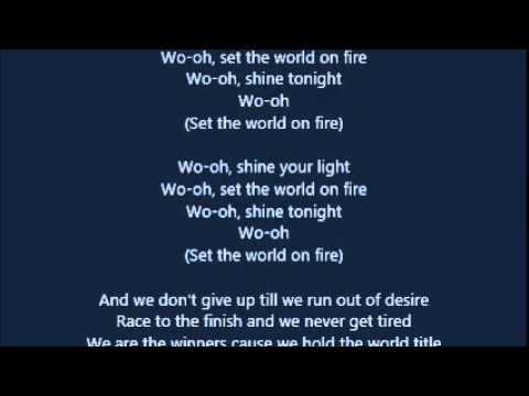Rita Ora - Shine Ya Light (LYRICS)
