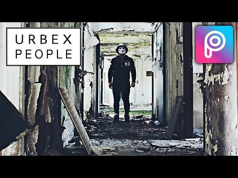 How to Make Urbex People Photo in Picsart Mobile | Easy Tutorial