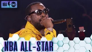 Meek Mill Intros All-Stars w/ 'Dreams and Nightmares' | All-Star 2019