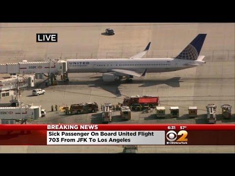 Sick Passenger On Board Flight From JFK Prompts Investigation At LAX