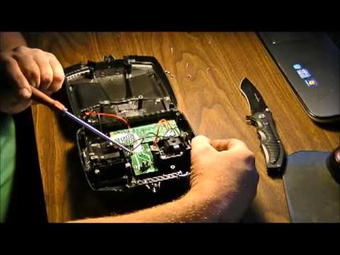 RC helicopter remote control repair