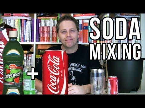 Soda Mixing: Watermelon Coke (Soda Tasting #44)