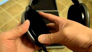 Sennheiser HD-650 headphones unboxing