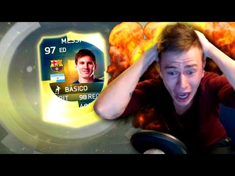 MESSI 97 TOTS IN PACK | BEST PACK OPENING | FIFA 15