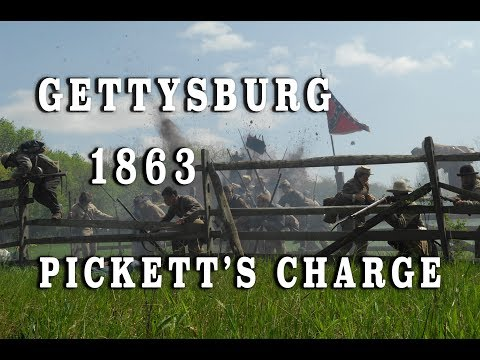 Gettysburg 145th DVD Pickett's Charge Sequence