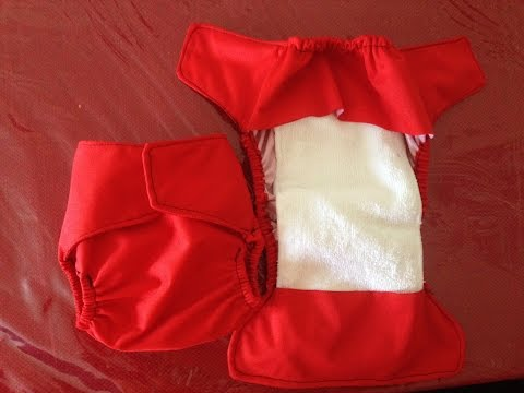 Tutorial   DIY Flip Style Diaper Cover without FOE (pt 1)