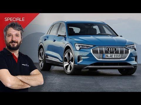 Audi e-tron  il primo SUV elettrico senza specchietti