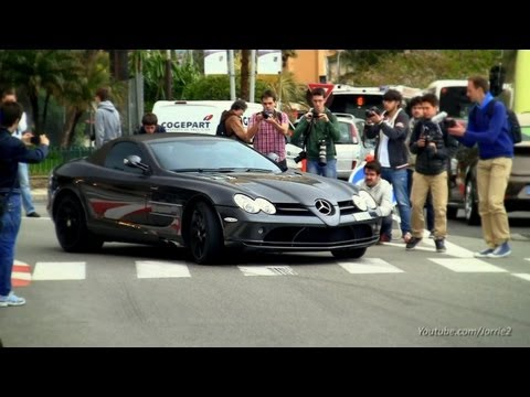 Mercedes-Benz SLR McLaren Straight Pipes Sound! - 1080p HD