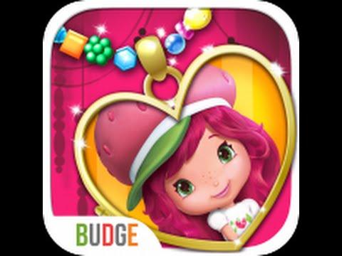 Strawberry Shortcake Pocket Lockets Jewelry Maker - iPad app demo for kids