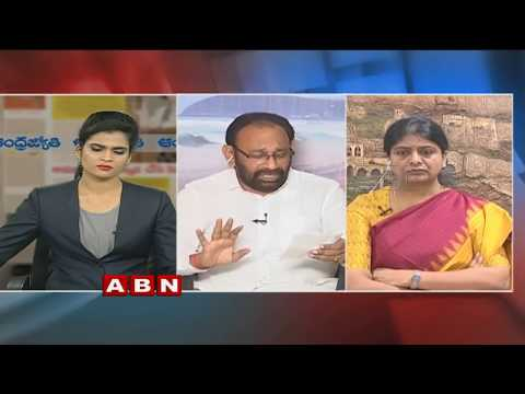 Debate | Chandrababu Raises AP Bifurcation issues in Niti Aayog meet | Public Point | Part 1