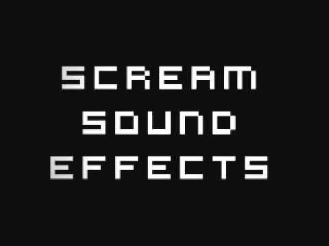 Scream Sound Effects video
