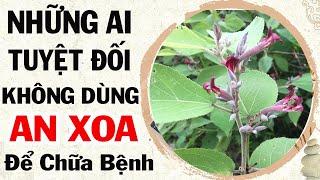 Những ai tuyệt đối không nên dùng cây An Xoa Để điều trị bệnh