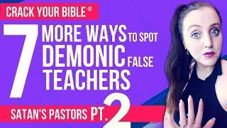 😈 7 signs your pastor works for SATAN! Part 2 (FALSE PROPHET PROOF)