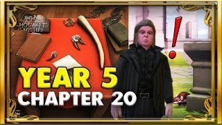 YEAR 5 CHAPTER 20! - HARRY POTTER:HOGWARTS MYSTERY