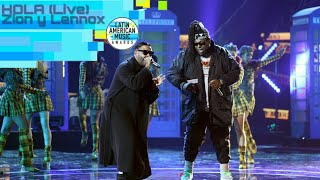 Hola (AMAs Live) - Zion y Lennox | Latin American Music Awards (2018)