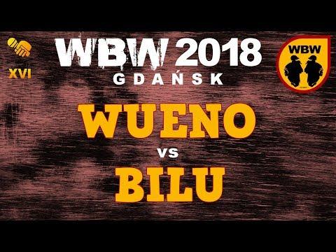 bitwa WUENO vs BILU # WBW 2018 Gdańsk (1/4) # freestyle battle