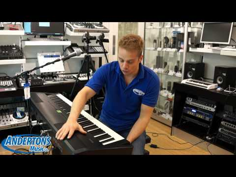 Roland FP-80 Electric Piano - In store Review with Richard Gere and Peter Gabriel??