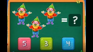 Learn To Count For Kids : Learning To Counting : Kids Counting Game With Animals