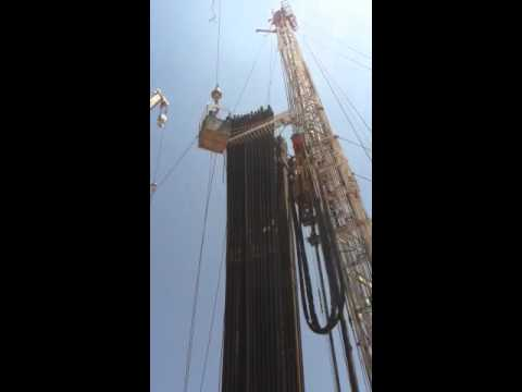 Drilling rig accident
