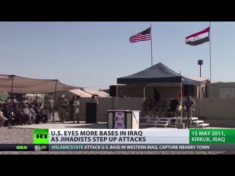 US eyes more bases in Iraq amid talk of major offensive on ISIS