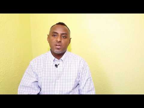 Habtamu Ayalew's Message To The People Of Ethiopia