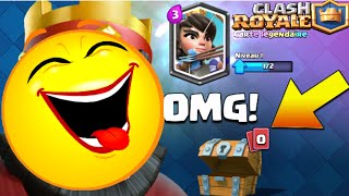 Unlock LEGENDARY Clash Royale EPIC REACTION !