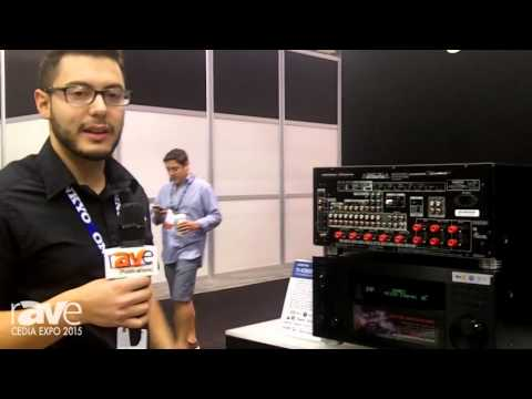 CEDIA 2015: Onkyo Displays The New RZ800 and RZ900 Series Receivers for Mulit-Channel Hi-fi Audio
