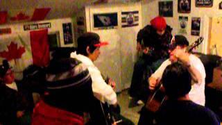 Frozen Bannock Sandwiches Bruce Lafromboise Flying Guitar Avi