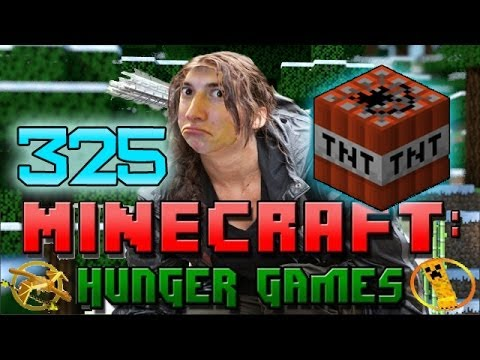 Minecraft: Hunger Games w/Mitch! Game 325 - HOW TO WIN! PEW PEW!