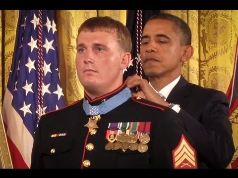 Dakota Meyer Presented the Medal of Honor (Official White House Feed) (HD)