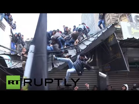 State of Palestine: Hamas hold Gaza City funeral procession for 7 killed fighters