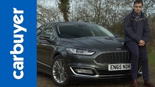 Ford Mondeo Vignale saloon 2016 review - Carbuyer