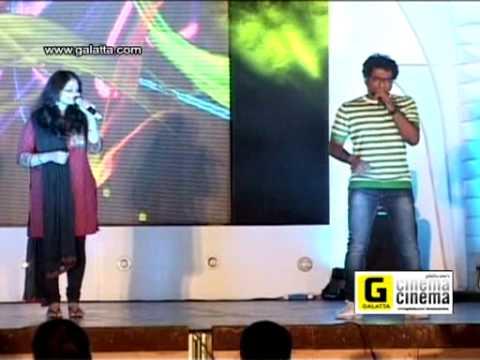 Oru Paadhi Kadhavu Song live performance at Thandavam audio launch