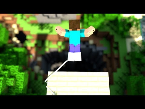 Cavediving - Minecraft Bungee Jumping Animation