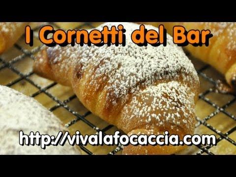 La Video Ricetta dei Cornetti da Bar di Pasta Brioche