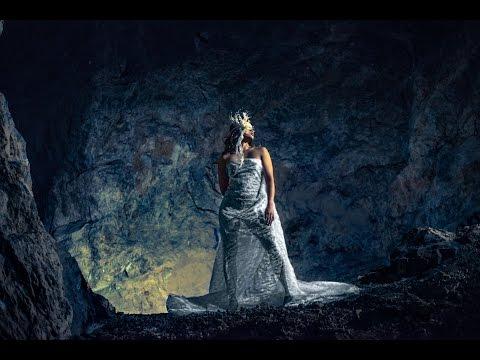 Fashion Wedding Shoot in Abandoned Mining Cave Interfit Off Camera Flash & Rotolight by Jason Lanier