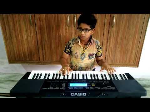 Jimmi jimmi jimmi aaja aaja aaja jungle rhythms mix cover by Nakul varshney on piano