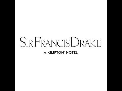 Sir Francis Drake Hotel at Christmastime