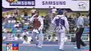 2007 world taekwondo championship 78 kg male Final
