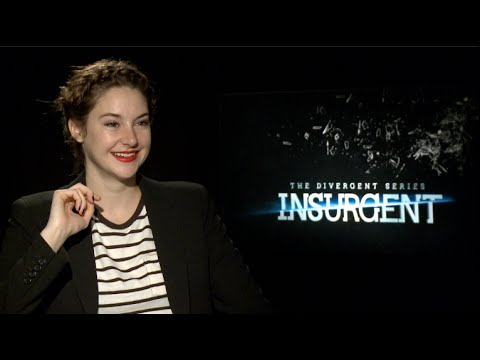 INSURGENT interviews - Shailene Woodley, Theo James, Ansel Elgort, Miles Teller, Spencer