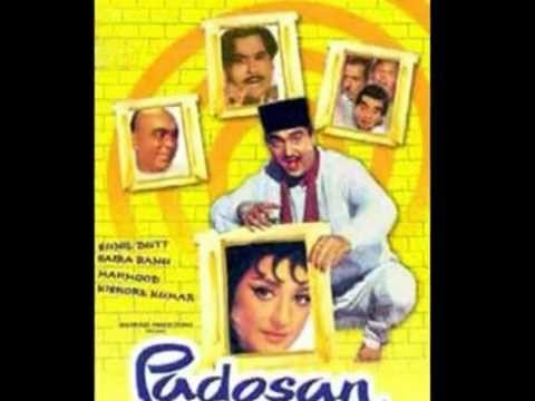 Mere Samne Wali Khidki Mein Full Song (HQ) With Lyrics - Padosan...