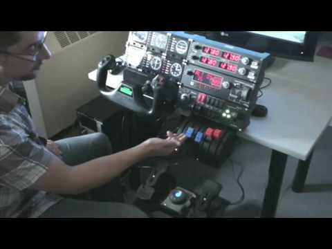 Saitek ProFlight Sim Full Set-up and Demonstration. Part 1
